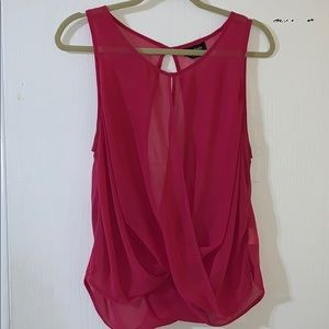 Bebe sleeveless blouse